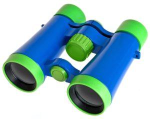 Bresser junior Fernglas für Kinder 4x30 grün/blau